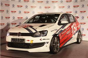 2012 Polo-R Cup car, drivers unveiled