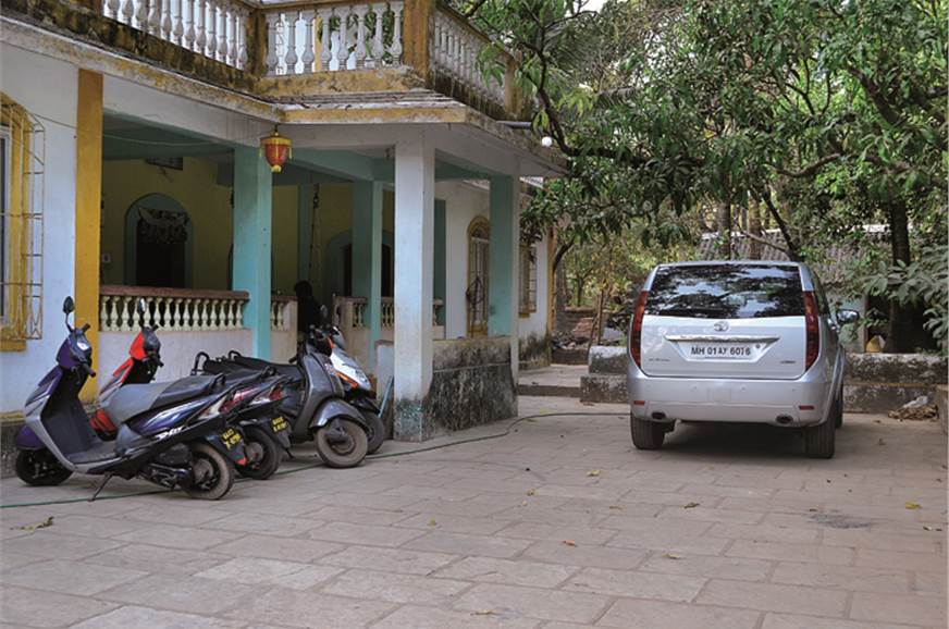 Our Aria hibernates while we hire scooters to tackle Goa'...