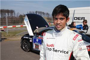 Aditya's team qualifies 7th for Nurburgring 24-hour