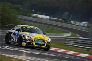 Aditya Patel wins at Nurburgring