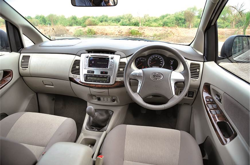 Innova feels airy and is larger on the inside. Quality he...