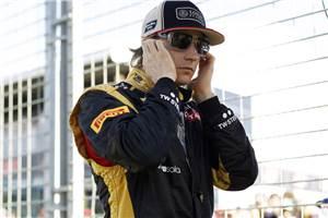 Lotus: Raikkonen cannot go rallying