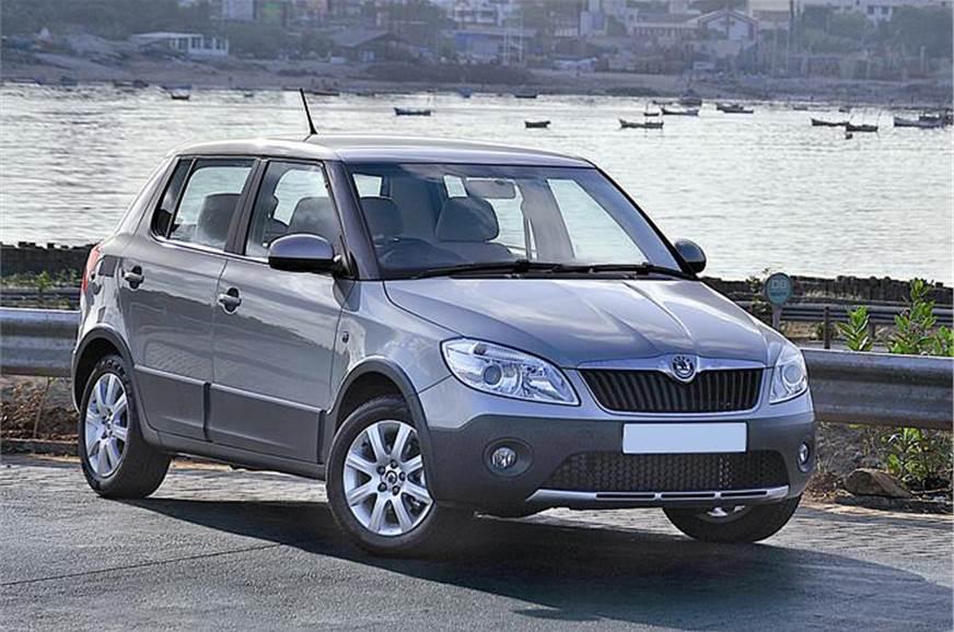 skoda fabia scout review test drive autocar india. Black Bedroom Furniture Sets. Home Design Ideas
