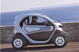 Renault Twizy review, test drive
