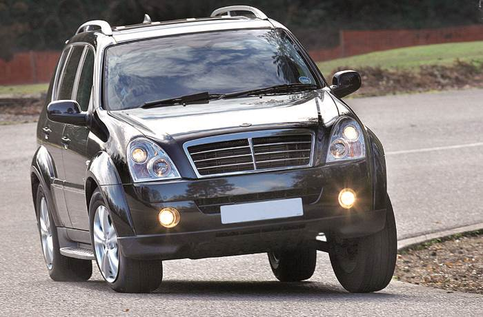 SsangYong Rexton review, test drive
