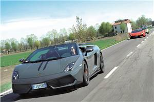 Lamborghini Gallardo Performante review, test drive