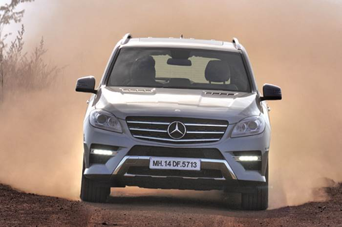 New Mercedes ML 350 CDI review, test drive