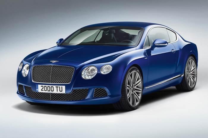 New Bentley GT Speed unveiled