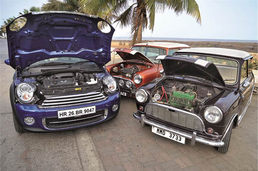 Orignal Mini's transverse engine legacy carries on.