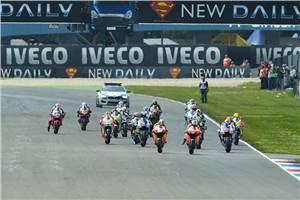 Stoner wins as Lorenzo crashes