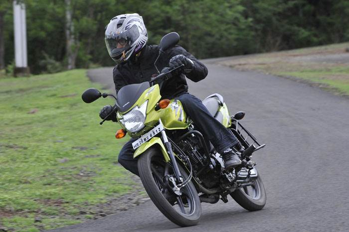 Suzuki Hayate review, test ride