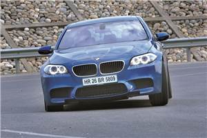 New BMW M5 review, test drive