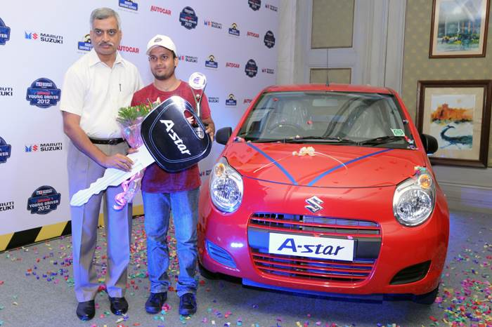 Sudeep Mishra is Young Driver 2012