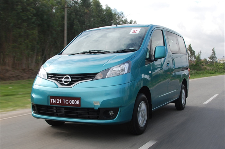 2012 nissan evalia review test drive and video autocar. Black Bedroom Furniture Sets. Home Design Ideas