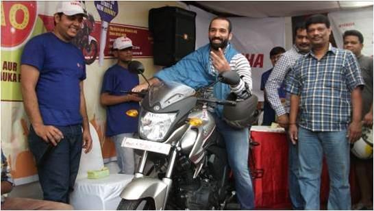 Yamaha organises bike contest in Mumbai