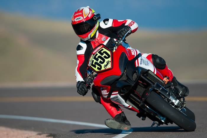 Ducati tops 2012 Race to the Clouds