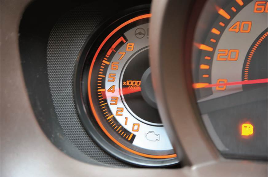 Rev happy 1.2-litre motor is responsive once on the move ...