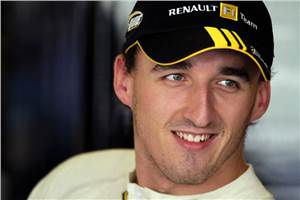 Kubica tests factory WRC Fiesta