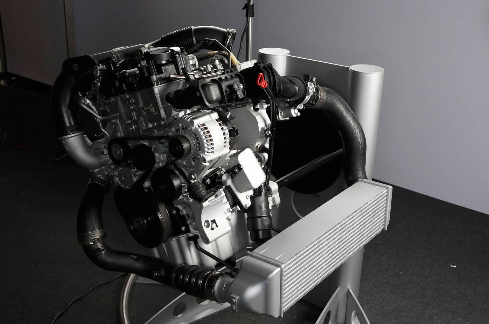 BMW reveals new three-cylinder engine