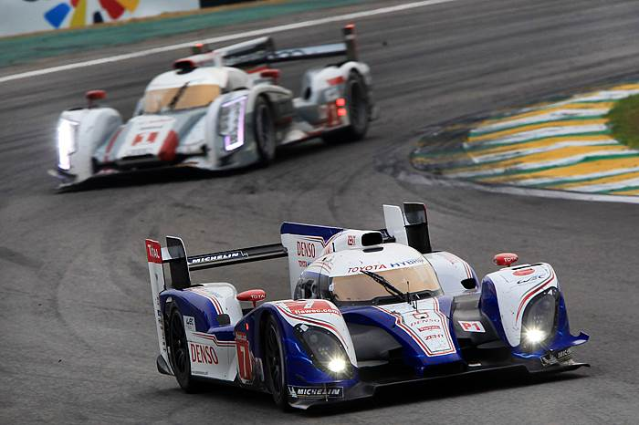 WEC: Toyota defeats Audi at Sao Paulo