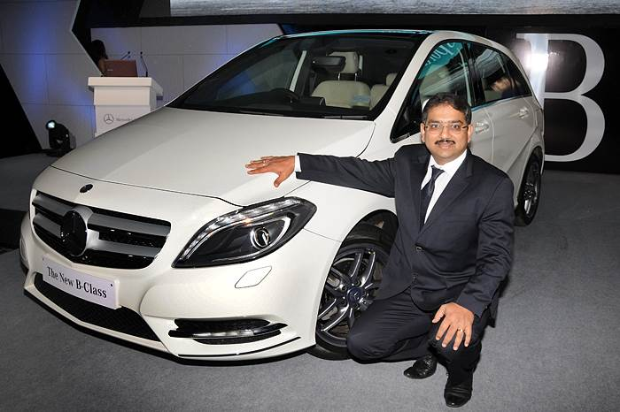 Mercedes B-class launched at Rs 21.49L