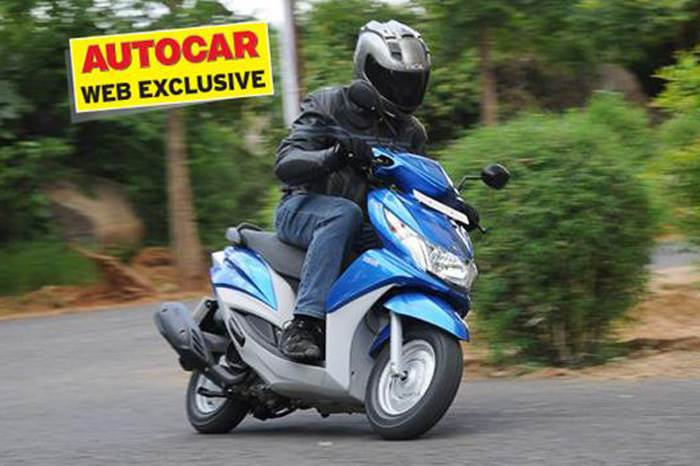 Yamaha Ray test ride, review and video