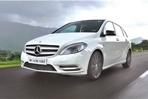 2012 Mercedes B-Class review, road test