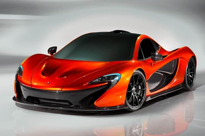 McLaren P1 supercar revealed