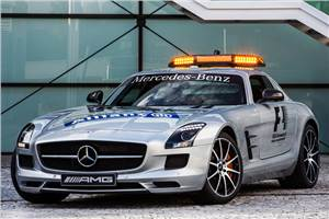 Mercedes-Benz SLS AMG GT is new F1 Safety Car
