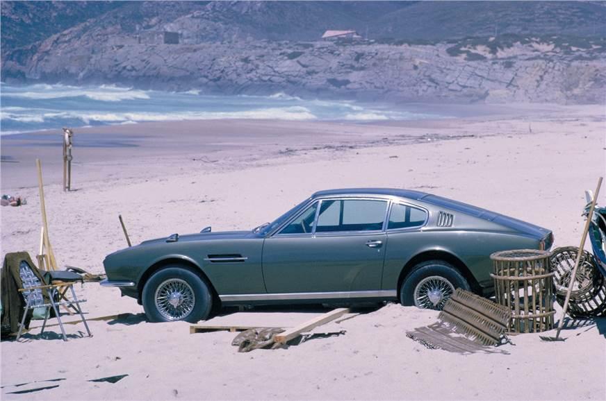 Aston Martin DBS in On Her Majesty's Secret Service