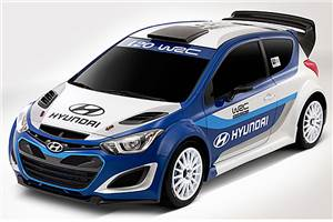 New Hyundai i20 WRC car revealed