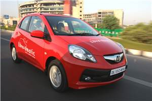 Honda Brio Automatic review, test drive and video