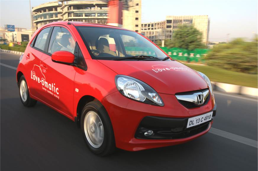 Automatic Brio is expected to cost Rs 60,000 more than th...