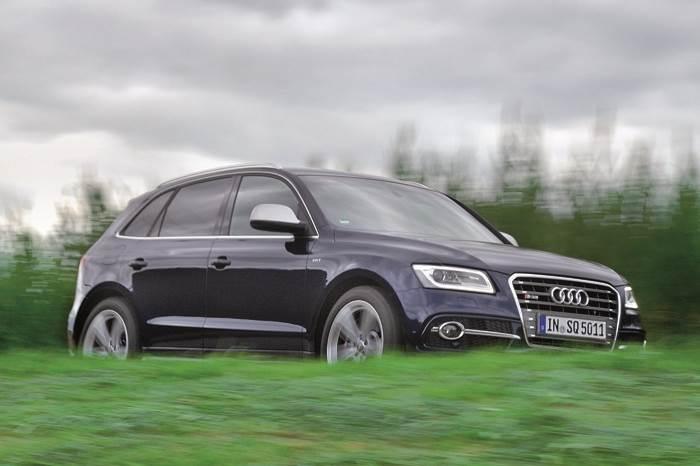 Audi SQ5 TDI review, test drive