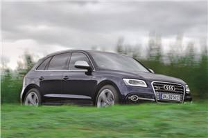 Audi SQ5 TDI review, test drive