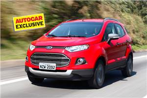 Ford EcoSport review, test drive and video