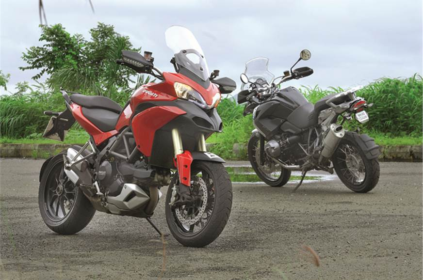 Trust Ducati to make even and adventure-tourer look exotic.