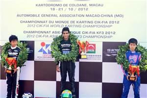 Jehan wins Asia-Pacific KF3 championship