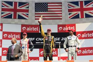 Daly wins in MRF Challenge