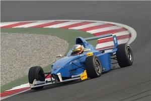 Patel on podium in JK Racing Asia
