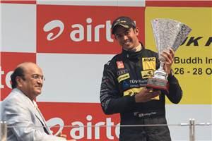 Second podium for Patel in JK RAS