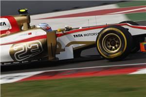 Narain Karthikeyan's Indian GP diary