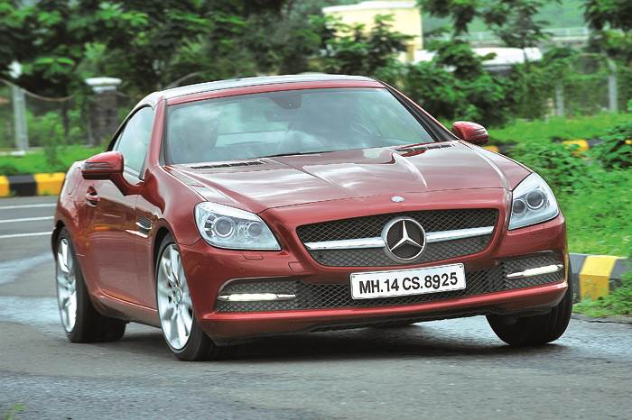 Mercedes Slk Vs Bmw Z4 Feature Autocar India