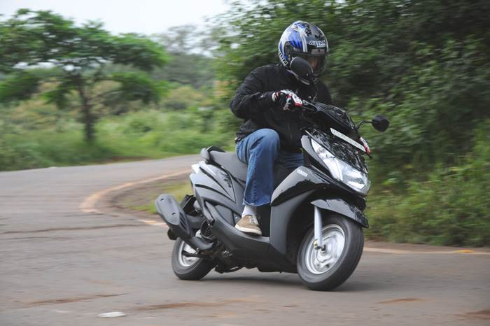 Yamaha Ray review, test ride