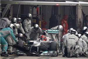 Schumacher hopes Merc learnt lesson