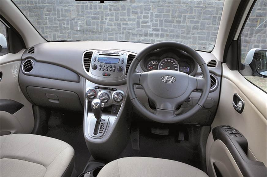 Quality of materials and plastics is good on the i10. Hig...