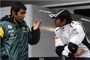 Narain and Karun to represent India at RoC