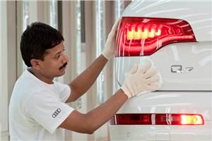 Audi starts Q7 production in India
