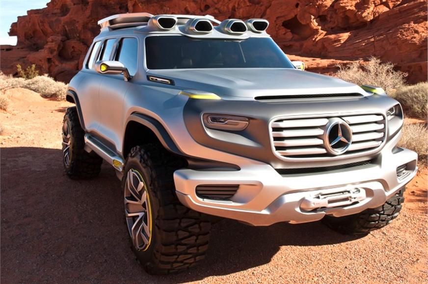 Mercedes benz reveals new suv concept autocar india for Mercedes benz g series suv