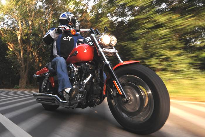 Harley Davidson Fat Bob, test ride, review